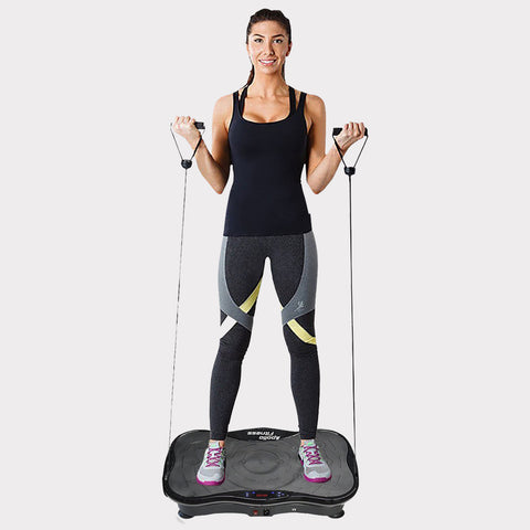 Mini Vibration Machine By Apollo Fitness (Black)