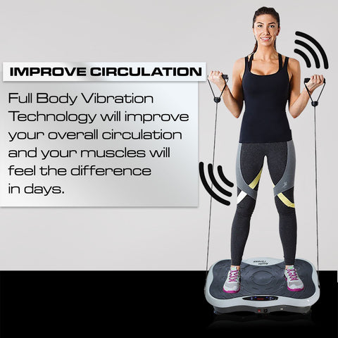 Mini Vibration Machine By Apollo Fitness (White)