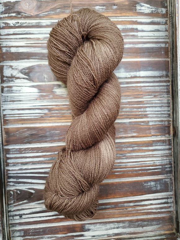 Pecan 100g Bluefaced Leicester Lace 875 yards
