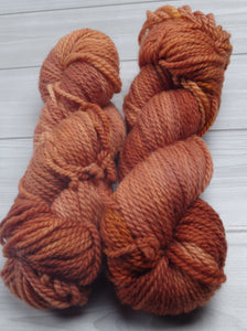 Spiced Chai - Superwash Bluefaced Leicester Aran Weight