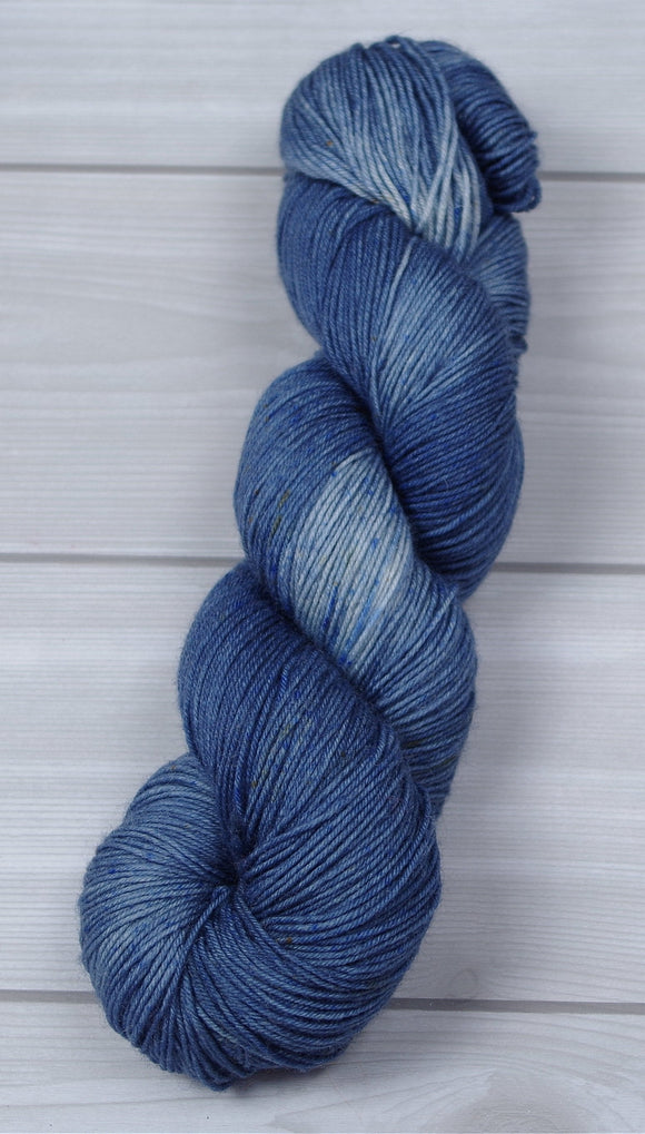Blue Jeans for Rare Genes-SW BFL/Nylon Fingering