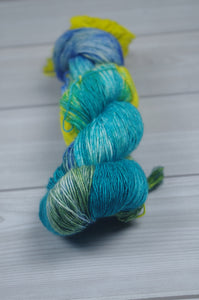 Fishy-SW Merino/Silk Singles Fingering