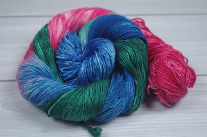 Mermaid- SW Merino/Silk Fingering