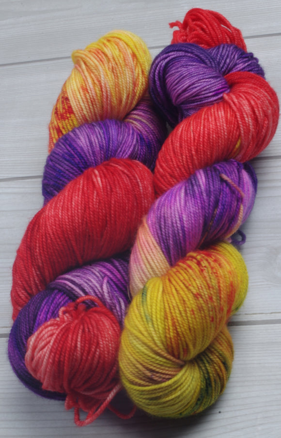 Mayvara, Dragoness of the Sun - Superwash Merino Sport