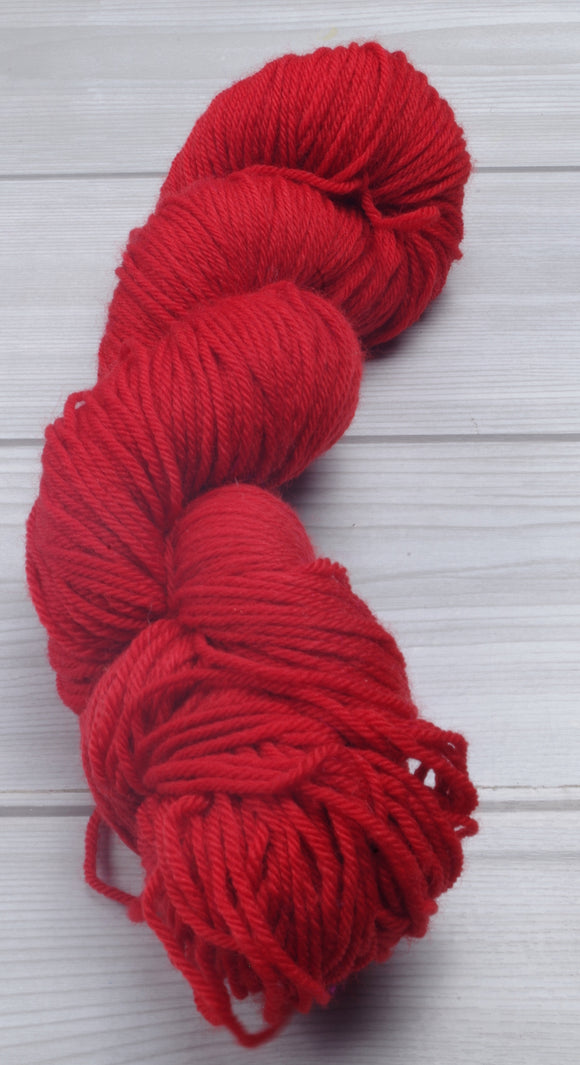 Scarlet - Superwash Bluefaced Leicester Sport
