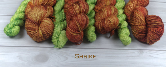 Shrike-BFL/Silk Fingering