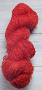 Strawberry Brandy - Superwash Bluefaced Leicester Lace