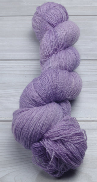 Summer Lavender- Superwash Bluefaced Leicester Lace