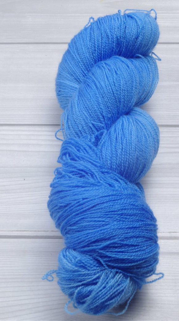 Summer Sky - Superwash Merino Lace