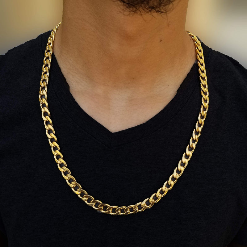 14K Gold Miami Cuban Chain-King's Jewelers-Custom-Hip-Hop-Jewelry