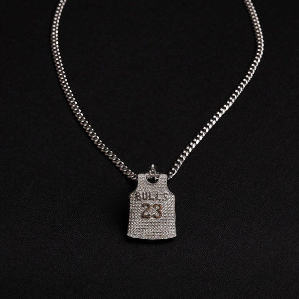 Bulls 23 Necklace