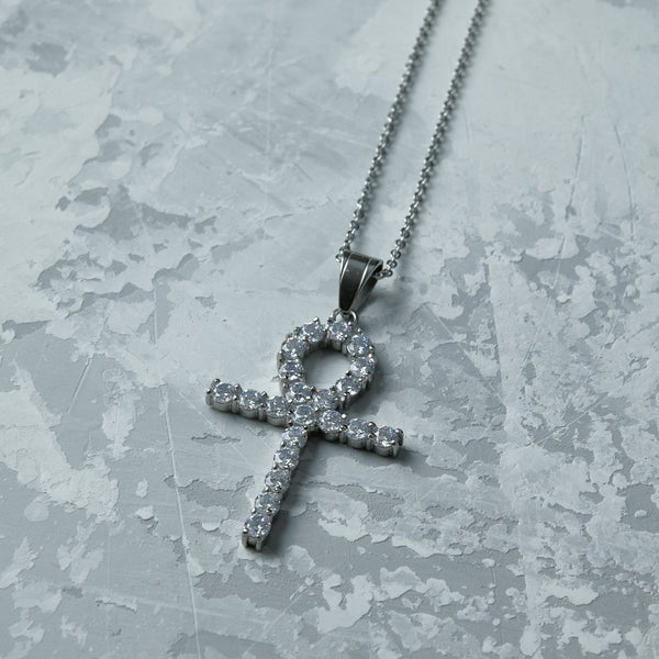 Silver Ankh Necklace