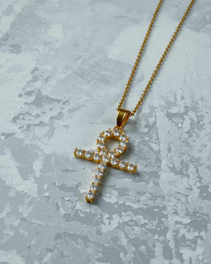 Gold Ankh Necklace