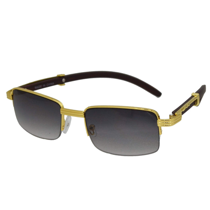 Black Avenger Sunglasses-King's Jewelers-Custom-Hip-Hop-Jewelry