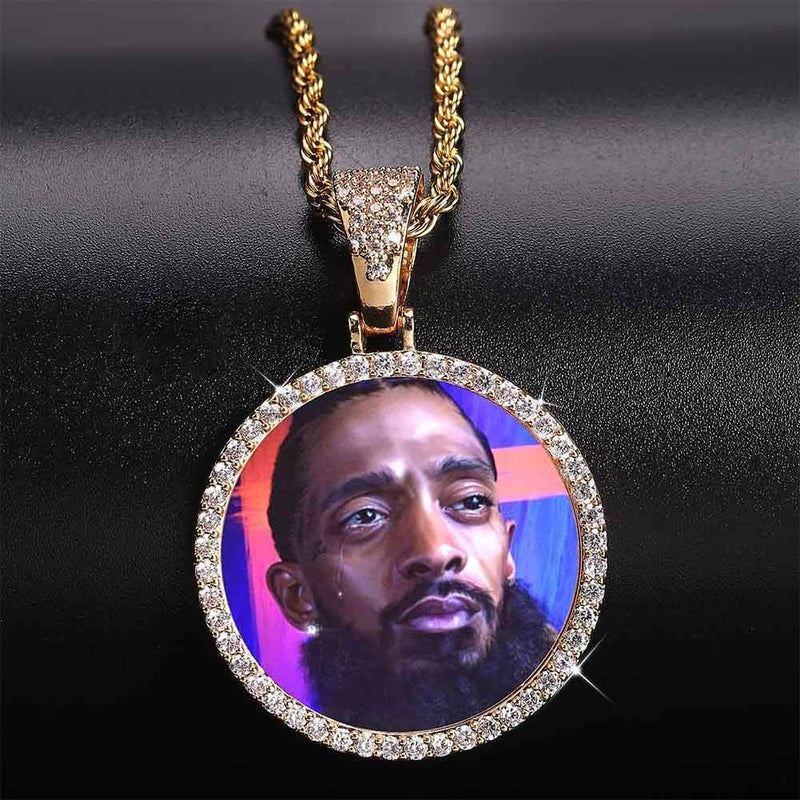 Custom Photo Pendant-King's Jewelers-Custom-Hip-Hop-Jewelry