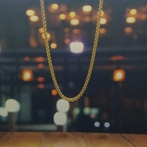 Gold Crucified Jesus Necklace-King's Jewelers-Custom-Hip-Hop-Jewelry
