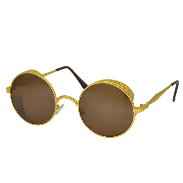 Royal Golden Baza Sunglasses-King's Jewelers-Custom-Hip-Hop-Jewelry