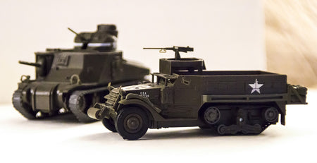 Armored Vehicles, Artillery & Tanks