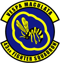 43rd Fighter Squadron Emblem