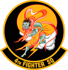 4th Fighter Squadron Emblem