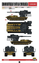 12.8 cm Flakzwilling 40 With E-100 Weapons Carrier 1/72 Model Kit By Modelcollect Paint Scheme Page 11
