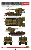 12.8 cm Flakzwilling 40 With E-100 Weapons Carrier 1/72 Model Kit By Modelcollect Paint Scheme Page 12