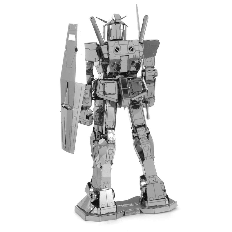 RX-78-2 Gundam  Metal Earth Iconx Model Kit Rear View