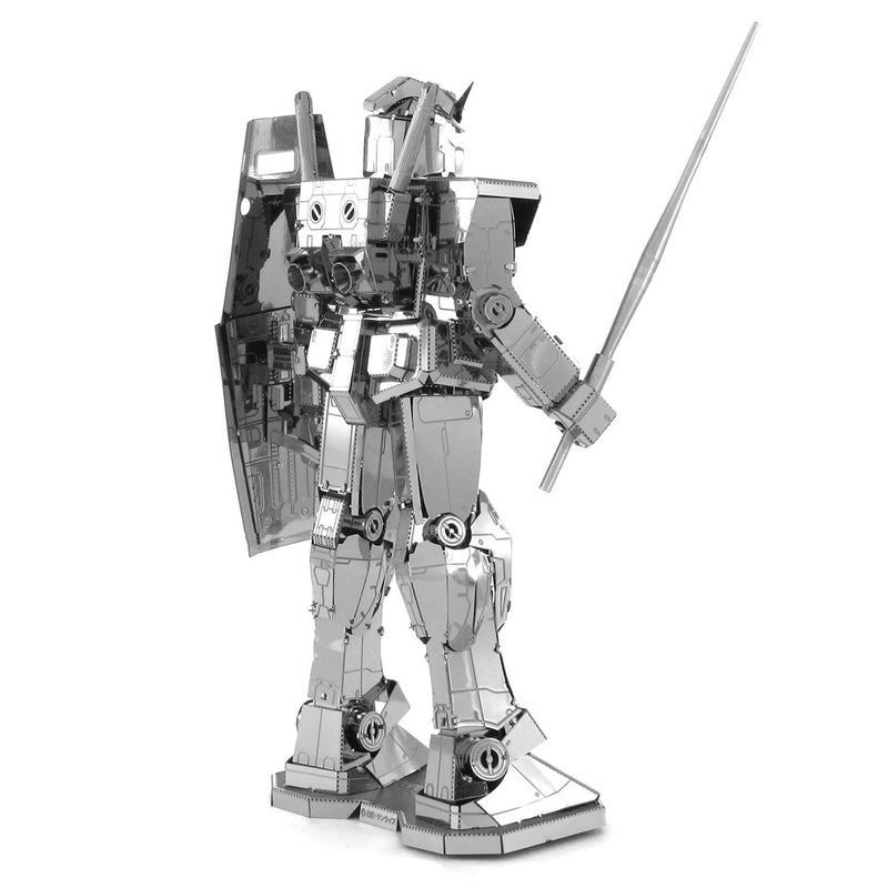 RX-78-2 Gundam  Metal Earth Iconx Model Kit  Right Rear View