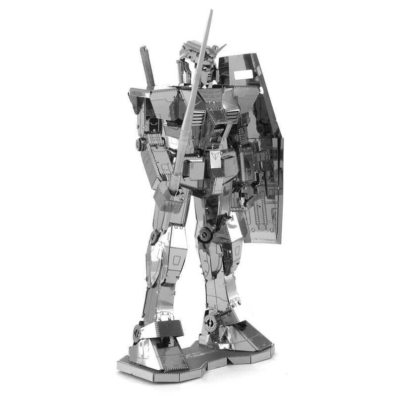 RX-78-2 Gundam  Metal Earth Iconx Model Kit Left Front View
