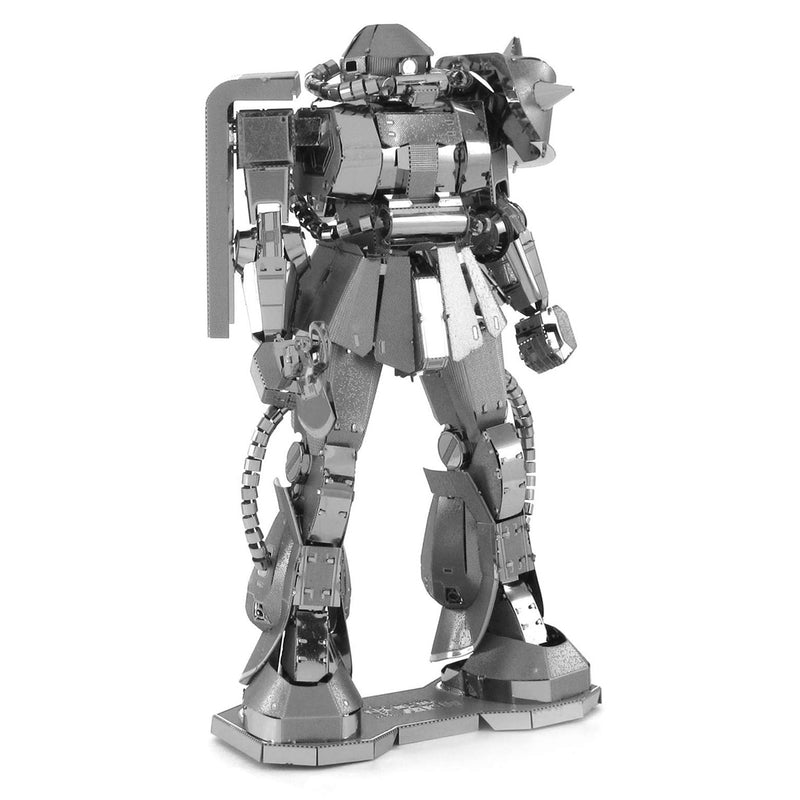 Gundam MS-06 Zaku II Metal Earth Iconx Model Kit By Fascinations