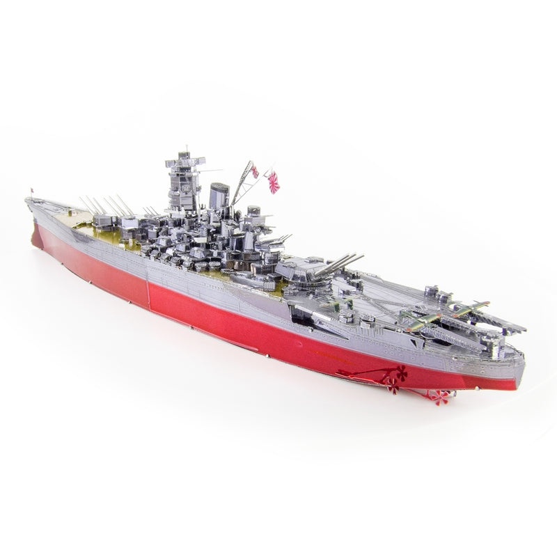 IJN Yamato Battleship Metal Earth Iconx Model Kit