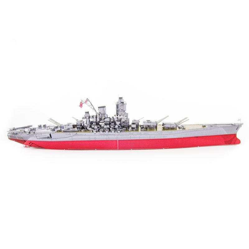 IJN Yamato Battleship Metal Earth Iconx Model Kit Starboard Side View