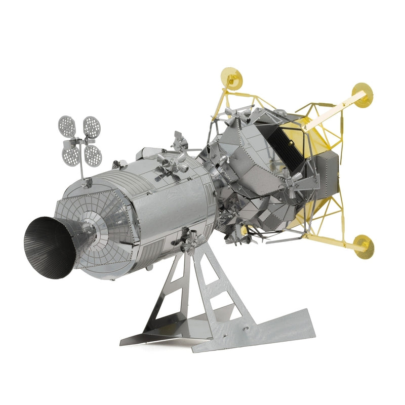 Apollo Command Service Module with Lunar Module Metal Earth Model Kit