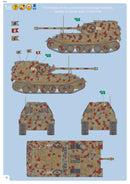 Sd.Kfz 184 Elefant Tank Hunter 1/35 Scale Model Kit By Revell Germany Instructions Page 18