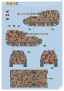 Sd.Kfz 184 Elefant Tank Hunter 1/35 Scale Model Kit By Revell Germany Instructions Page 19
