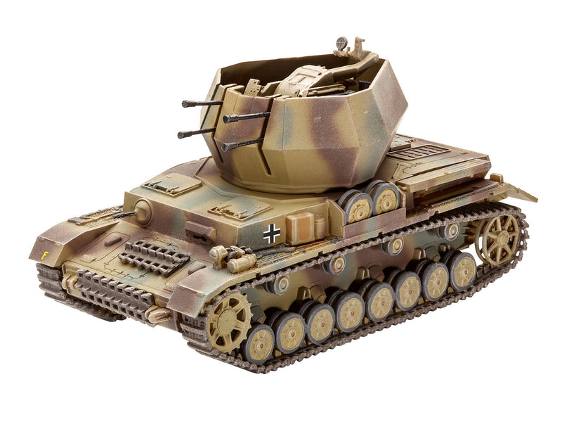 "Flakpanzer IV ""Wirbelwind"" 1/72 Scale Model Kit By Revell Germany"