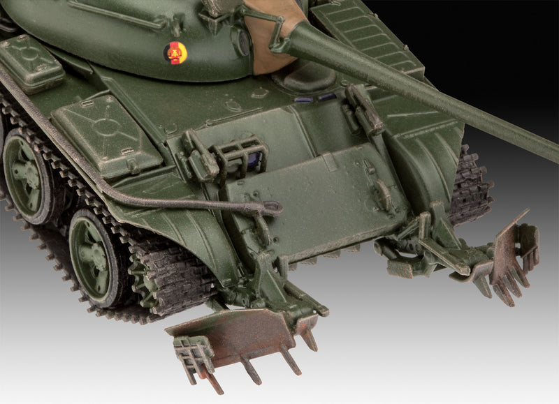 T-55A/AM with KMT-6/EMT-5 1/72 Scale Model Kit KMT Detail