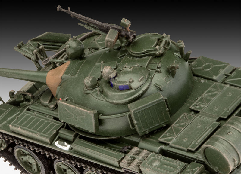 T-55A/AM with KMT-6/EMT-5 1/72 Scale Model Kit Turret Detail