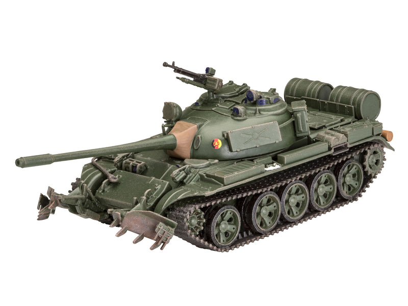 T-55A/AM with KMT-6/EMT-5 1/72 Scale Model Kit By Revell Germany