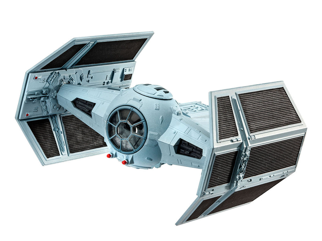 Star Wars Darth Vader's Twin Ion Engine (TIE) Fighter 1/121 Scale Model Kit By Revell Germany