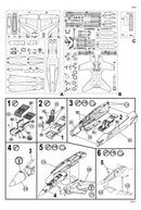 Boeing F-18C Hornet 1:72 Scale Model Kit By Revell Germany Instuctions Page 3