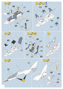 BAe Hawk T.1 Red Arrows 1/72 Scale Model Kit Instructions Page 6
