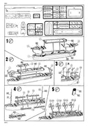 RMS Titanic 1/1200 Scale Model Kit Instructions Page 4