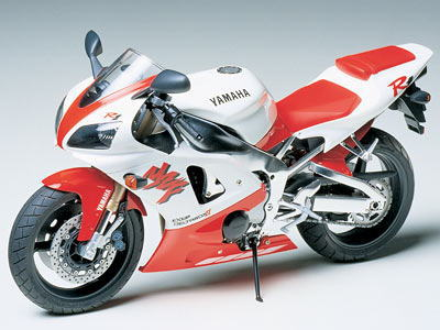 Yamaha YZF-R1 Motorcycle 1:12 Scale Model Kit By Tamiya
