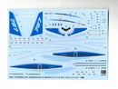 Boeing 787-8 Demonstrator 1st Aircraft 1/200 Scale Model Kit By Hasegawa Decals