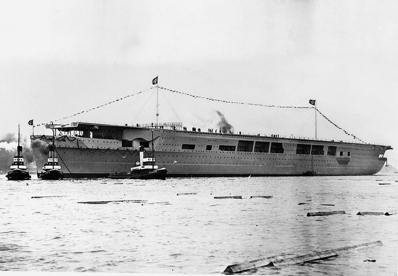 Graf Zeppelin Launch 8 December 1938