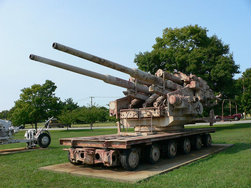 Flakzwilling 40 at US Army Ordnance Museum