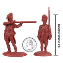 American War Of Independence British Grenadiers 1/30 Scale Model Plastic Figures By LOD Enterprises Size Comparison