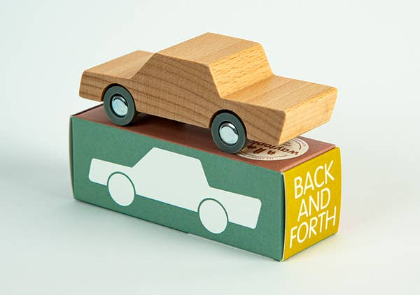 Back And Forth Car By Way To Play Toys