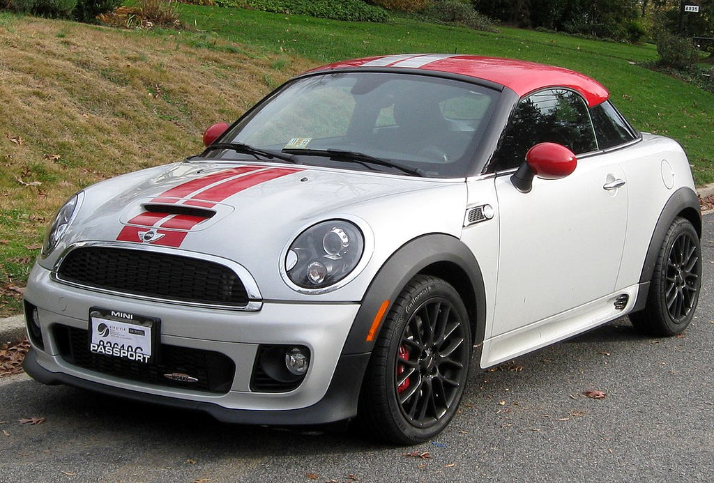 Mini Coupe 2012 Pepper White & Chili Red